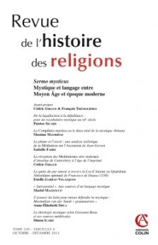 Revue De L Histoire Des Religions 4 2013 Armand Colin Revues
